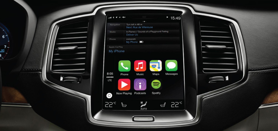 Volvo XC90 2016 Display